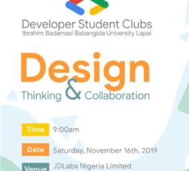 DSC IBBUL Design Thinking and Collaboration